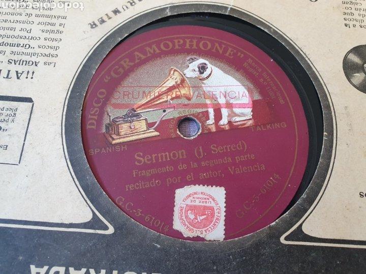 SERMON Y LA RISA VALENCIA (Música - Discos - Pizarra - Flamenco, Canción española y Cuplé)