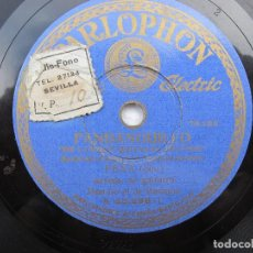 Discos de pizarra: JOSE MUÑOZ (PENA HIJO ) LO QUE AHORA / DE LAS QUE QUITAN EL SENTIO ( PARLOPHON 25.298). Lote 204588147