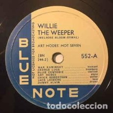 Discos de pizarra: DISCO PIZARRA . ART HODES´ HOT SEVEN .WILLIE THE WEEPER / CHICAGO GAL .. Lote 204592251