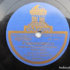 Discos de pizarra: JOSE MUÑOZ (PENA HIJO) LA MARE MIA / POR DIOS NO PIERDAS LA HONRA (ODEON 182234). Lote 204595996