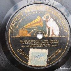 Discos de pizarra: EL GUITARRICO (JOTA DE PERICO) SAGI-BARBA (GRAMOPHONE G C-2-62080) MONOFACIAL. Lote 204696385