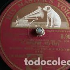 Discos de pizarra: DISCO PIZARRA. MUGGSY SPANIER AND HIS RAGTIME BAND . BLUGGY THE BLUES / AT SUNDOWN .. Lote 204699552