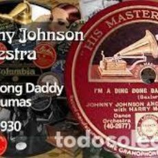 Discos de pizarra: DISCO PIZARRA . MCKINNEY´S COTTON PICKERS . MISS HANNAH / I´M A DING DONG DADDY .. Lote 204701706