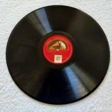 Discos de pizarra: LUCRECIA BORI (CIRIBIRIBIN = PESTOLOZZA/ IL BACIO = ARDITI) - LA VOZ DE SU AMO. Lote 204702750