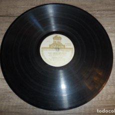 Discos de pizarra: CONCHITA PIQUER - TUS OJOS NEGROS / DOLORES, LA PETENERA. Lote 204802693