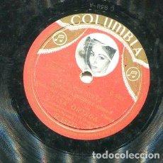 Discos de pizarra: LUISA ORTEGA / AMPARO / PON MIS PROPIOS OJOS (COLUMBIA R 18227). Lote 205085290