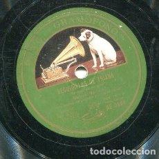 Discos de pizarra: MANUEL VALLEJO / RENIEGO DE MI SINO / Y A DISGUSTO ESTAS VIVIENDO (GRAMOPHONO AE 3868). Lote 205088392