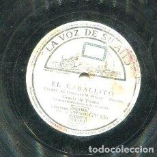 Discos de pizarra: GRACIA DE TRIANA / EL CABALLITO / PEPE ROMERO (LA VOZ DE SU AMO GY 536). Lote 205090423
