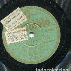 Discos de pizarra: EL SEVLLANO / LOS PAJARILLOS / YO CONOCI UN POBRE LOCO (COLUMBIA V 9114). Lote 205233020