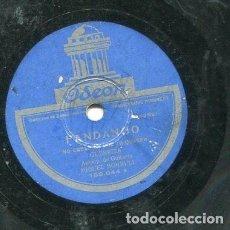 Discos de pizarra: GUERRITA / NO CREAS ES POR TU QUERER / LA ALCAZABA (ODEON 182.044). Lote 205234462