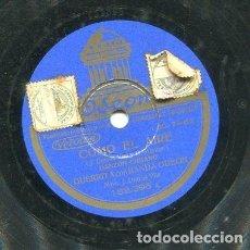 Discos de pizarra: GUERRITA / COMO EL AIRE / GUERRITA EL CANTOR (ODEON 183.396). Lote 205234600