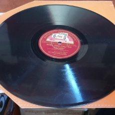 Discos de pizarra: DISCO DE PIZARRA DISQUE GRAMOPHONE BRUMES ( SHADOW BLUES ). Lote 205267357