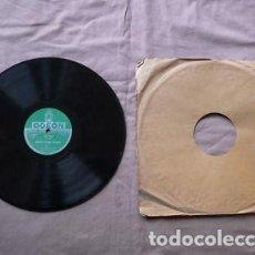 Discos de pizarra: DISCO PIZARRA. LOUIS ARMSTRONG AND HIS ORCHESTRA. MUGGLES / KNOCKING A JUG .. Lote 205274150