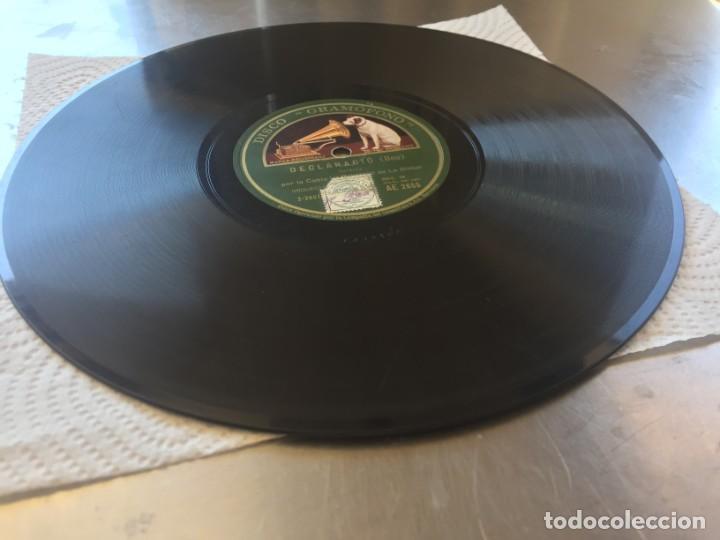 Discos de pizarra: DISCO PIZARRA DECLARACIO (BOU) Y CAMI DE L´ESGLESIA (LUIS M. SOLÉ) - Foto 3 - 205276172