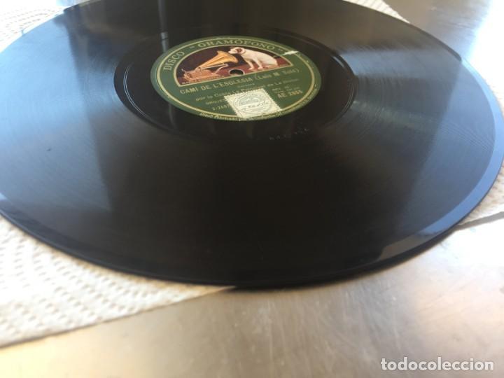 Discos de pizarra: DISCO PIZARRA DECLARACIO (BOU) Y CAMI DE L´ESGLESIA (LUIS M. SOLÉ) - Foto 5 - 205276172