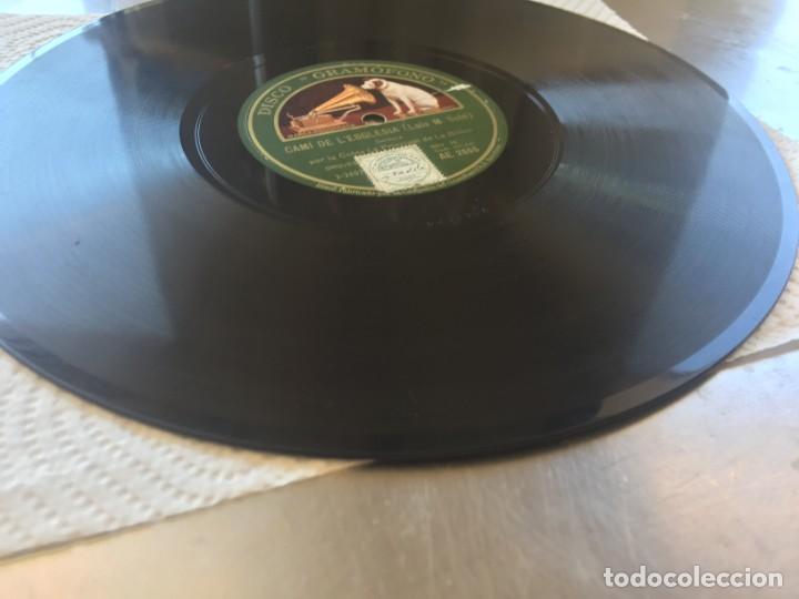 Discos de pizarra: DISCO PIZARRA DECLARACIO (BOU) Y CAMI DE L´ESGLESIA (LUIS M. SOLÉ) - Foto 6 - 205276172