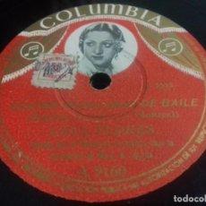 Discos de pizarra: LOLA FLORES- CUATRO SEVILLANAS DE BAILE/ PESCAERO- COLUMBIA- N°9160. Lote 205276692
