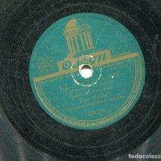 Discos de pizarra: PEPE BLANCO / DE LA GIRALDA BAJO / EL PAZPACHO (ODEON 204.116). Lote 205345332