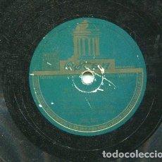 Discos de pizarra: MANOLO EL MALAGUEÑO / ALEGRIAS / ROSA-MARI (ODEON 204.307). Lote 205346632
