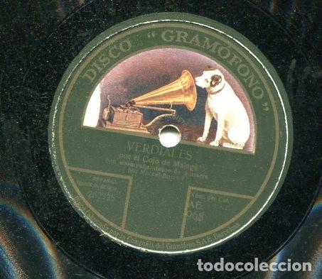 COJO DE HUELVA / VERDIALES / MURCIANAS I (GRAMOFONO AE 968) (Música - Discos - Pizarra - Flamenco, Canción española y Cuplé)