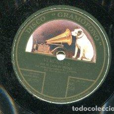 Discos de pizarra: COJO DE HUELVA / VERDIALES / MURCIANAS I (GRAMOFONO AE 968). Lote 205347337