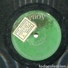 Discos de pizarra: COJO DE MALAGA / A MI NO ME IMPORTA NA / CANTABA UN RUISEÑOR (PARLOPHON B 25.017). Lote 205347716
