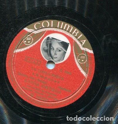 LUISA ORTEGA / AMPARO / CON MIS PROPIOS OJOS (COLUBIA R 18227) (Música - Discos - Pizarra - Flamenco, Canción española y Cuplé)