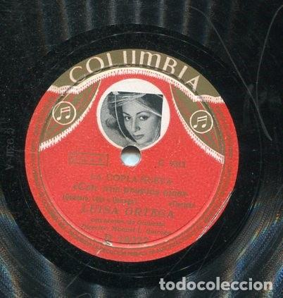 Discos de pizarra: LUISA ORTEGA / AMPARO / CON MIS PROPIOS OJOS (COLUBIA R 18227) - Foto 2 - 205564093