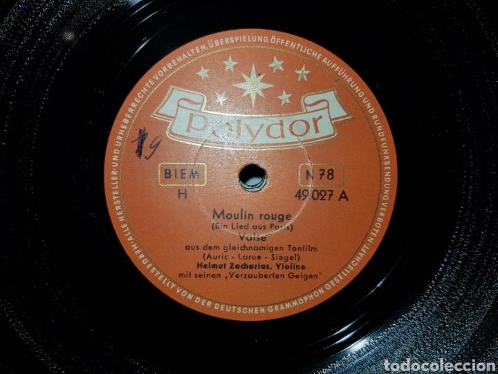 Discos de pizarra: Antiguo lote de discos de pizarra - Foto 3 - 205570978