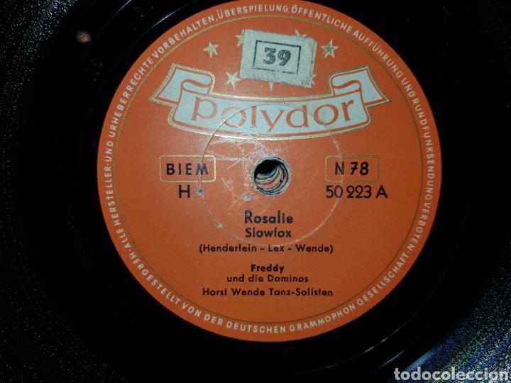 Discos de pizarra: Antiguo lote de discos de pizarra - Foto 6 - 205570978