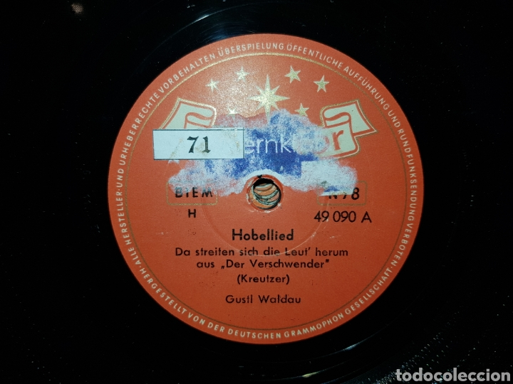 Discos de pizarra: Antiguo lote de discos de pizarra - Foto 7 - 205570978