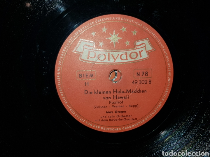Discos de pizarra: Antiguo lote de discos de pizarra - Foto 15 - 205570978