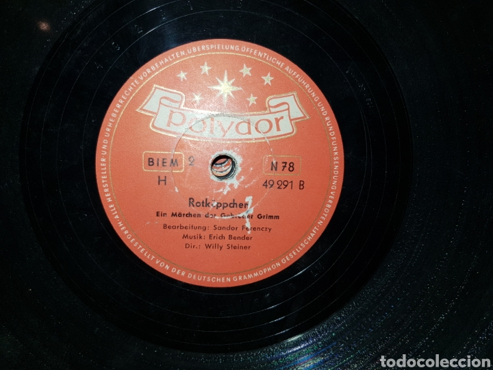 Discos de pizarra: Antiguo lote de discos de pizarra - Foto 24 - 205570978