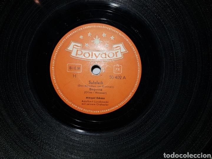ANTIGUO LOTE DE DISCOS DE PIZARRA (Música - Discos - Pizarra - Otros estilos)