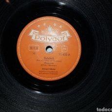 Discos de pizarra: ANTIGUO LOTE DE DISCOS DE PIZARRA. Lote 205570978
