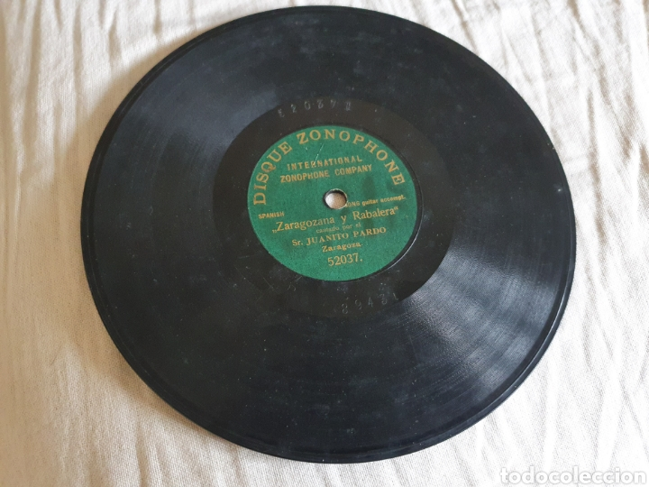 Discos de pizarra: Dos discos Juanito Pardo - Foto 3 - 205572416