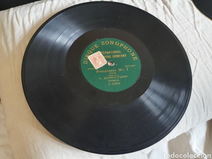 Discos de pizarra: Dos discos Juanito Pardo - Foto 2 - 205572416