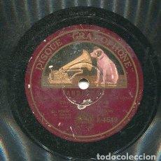 Discos de pizarra: CORRUCO DE ALGECIRAS / UN GRITO DE LIBERTAD / LO QUE GOZABA A TU VERA (GRAMOPHONE K 4549). Lote 205758515
