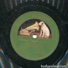 Discos de pizarra: CORRUCO DE ALGECIRAS / HACERME DE TU QUERER / HASTA LOS SANTOS DEL CIELO (GRAMOFONO AE 3721). Lote 205758745