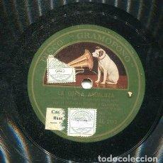 Discos de pizarra: NIÑO DEL MUSEO / FANDAANGOS DEL DESAFIO (GRAMOFONO AE 2713). Lote 205762558