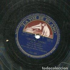 Discos de pizarra: NIÑA DE LOS PEINES / DE CIEN DIFICULTADES / DE COLOR DE CERA, MADRE (LA VOZ DE SU AMO AA 435). Lote 205763430