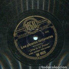 Discos de pizarra: NIÑA DE LOS PEINES / DEJE LA BOLA RODAR / LOS PICAROS TARTANEROS (REGAL DK 8635). Lote 205763672