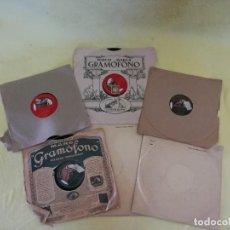 Discos de pizarra: LOTE DE UNOS 6 DISCOS DE PIZARRA, LP´S, VARIOS ESTILOS, A CLASIFICAR. Lote 205766666