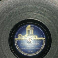 Discos de pizarra: DISCO DE PIZARRA 78RPM-ANTONIO MACHIN-ANGELITOS NEGROS/OLVIDAME. Lote 206171872