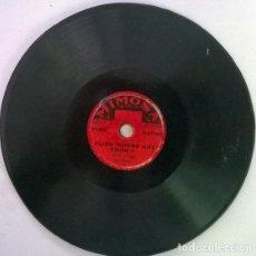 Discos de pizarra: MIMOSA DANCE ORCHESTRA HOME IN PASADENA/ ALICE WHERE ART THOU? MIMOSA, UK PIZARRA 6'' 78 RPM. Lote 206184975