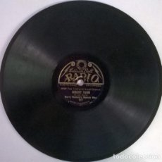 Discos de pizarra: HARRY HUDSON'S MELODY MEN. MISERY FARM/ IN THE SHADOWS. EDISON BELL RADIO UK 1929 8'' 78 RPM PIZARRA. Lote 206210460