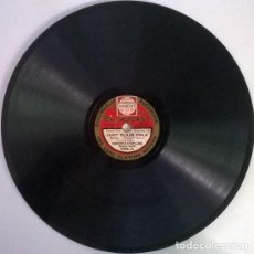 Discos de pizarra: BIDGOOD'S SYMPHONIC DANCE BAND. JUST PLAIN FOLK/ CAROLINA MOON. BROADCAST, UK 8'' 78 RPM PIZARRA. Lote 206212223