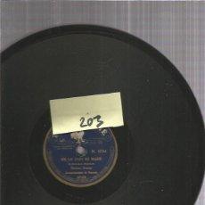Discos de pizarra: CARMEN ARENAS ME LO DIJO MI MARE. Lote 206231150