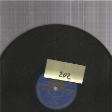 Discos de pizarra: GUERRITA TARANTAS. Lote 206231275