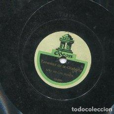 Discos de pizarra: NIÑA DE LOS PEINES / BULERIA NUEVA Nº 2 / TARANTAS DE LA GABRIELA (ODEON 13.280). Lote 206252106